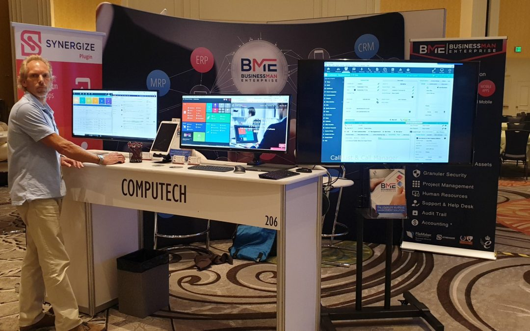 Last chance for Devcon 2019! Join the Computech Team on booth 206.
